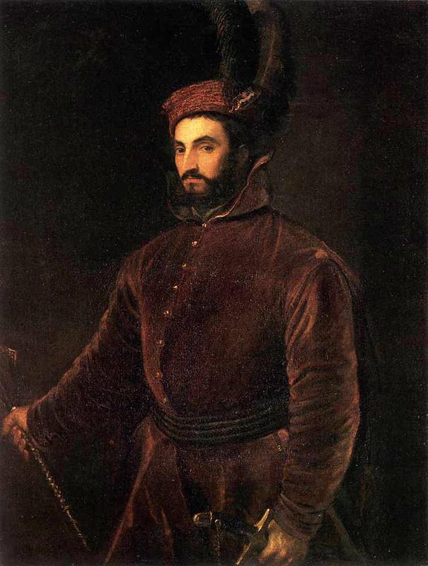 Porter Ippolito di Medici in the Hungarian dress