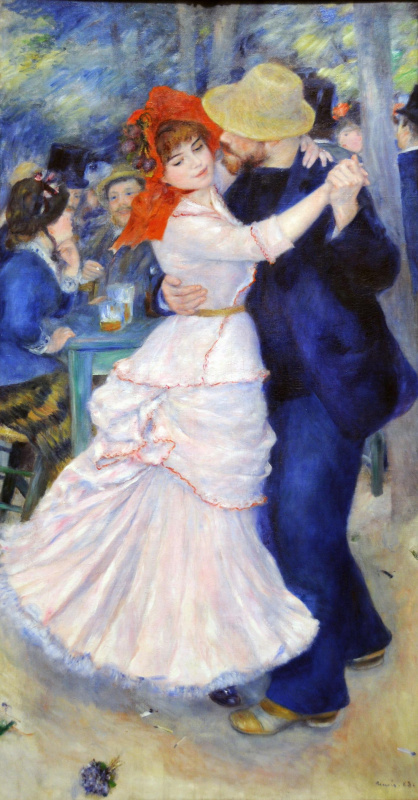 Pierre-Auguste Renoir. Dance in Bougival