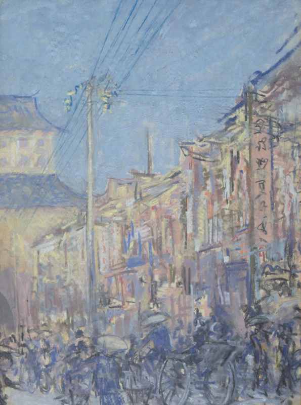 Святослав Теофилович Рихтер. Улица в Пекине