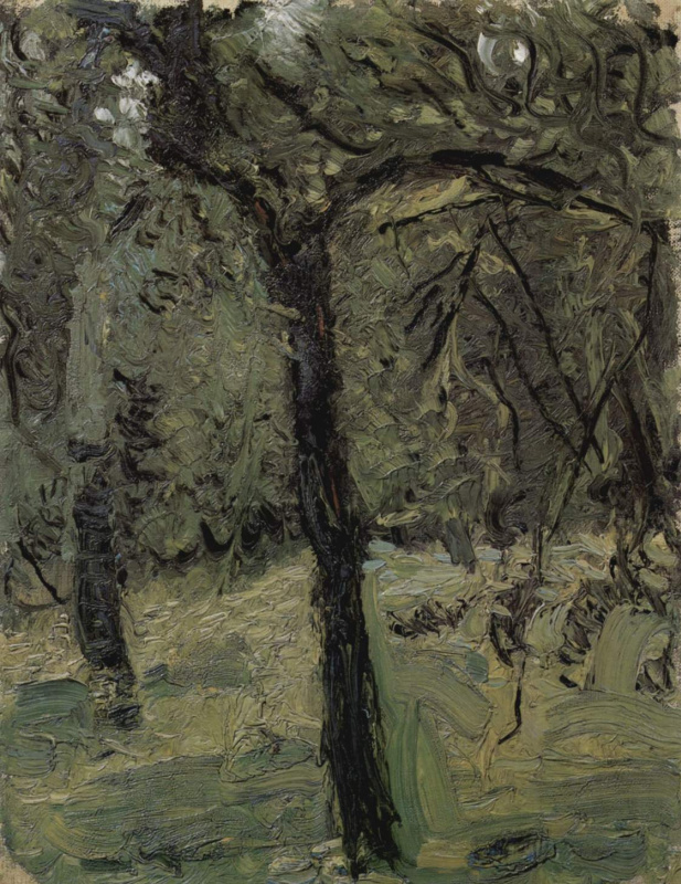 Richard Gerstl. The view of the Park