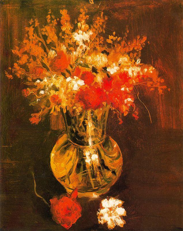 Louis Brichuega. Flowers vase