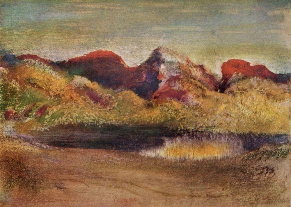 Эдгар Дега. Море и горы