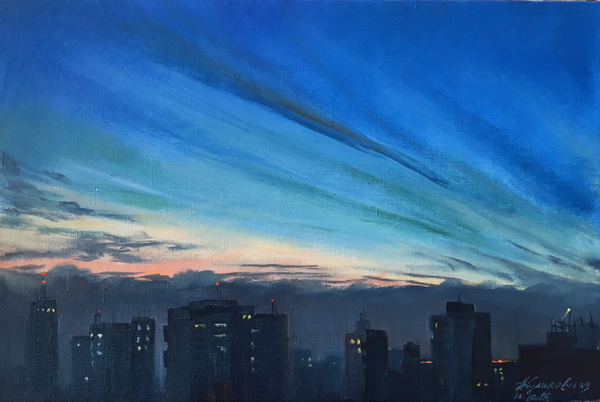 Natalia Kulikovska. Before the dawn