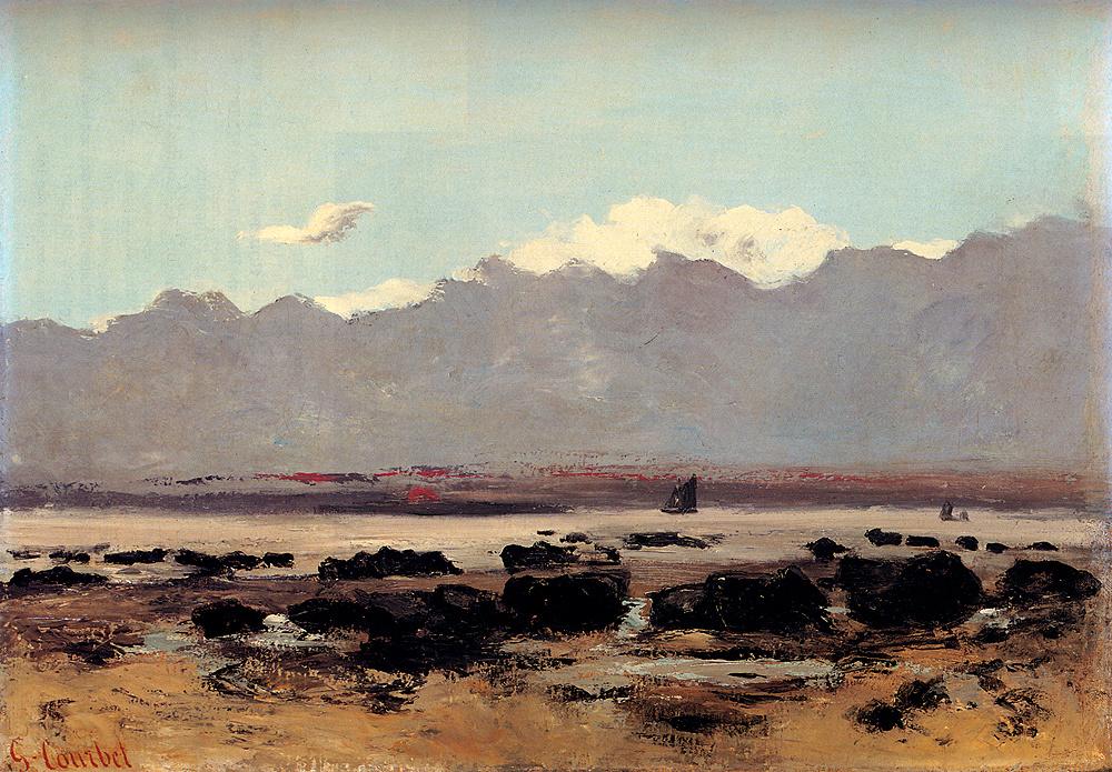 Гюстав Курбе. Морской пейзаж рядом с г. Трувиль