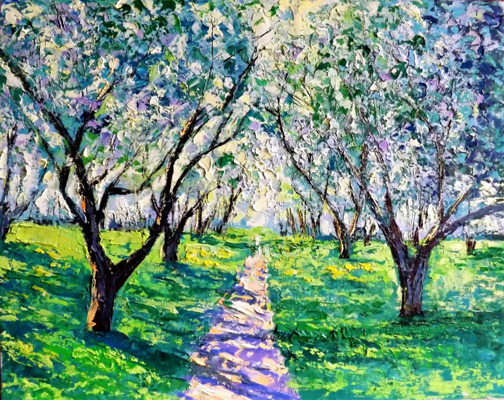 Sergey Yurievich Efremov. Path to apple orchard