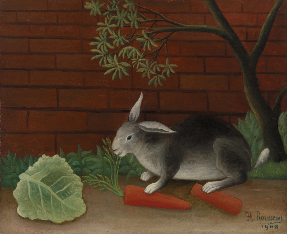 Анри Руссо. Еда кролика