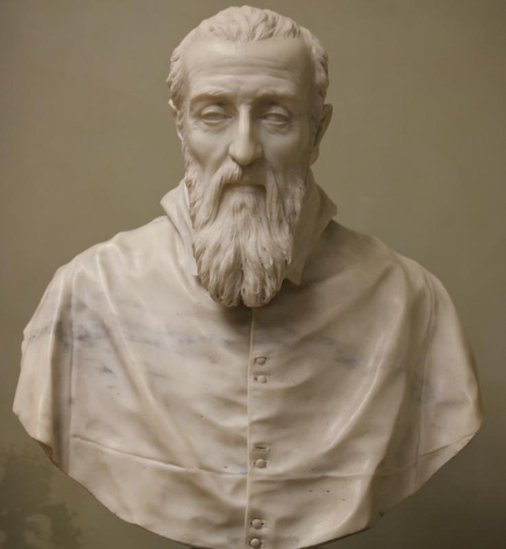 Gian Lorenzo Bernini. Cardinal Agostino Valle