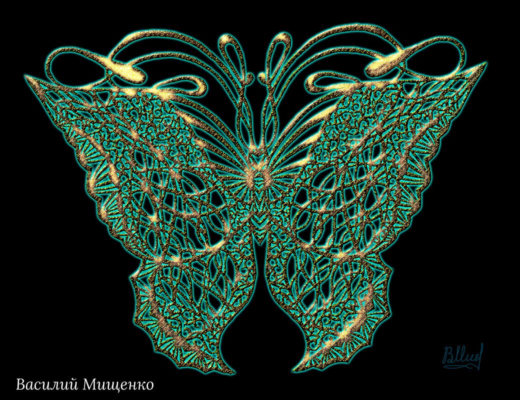 Vasiliy Mishchenko. Butterfly 0101