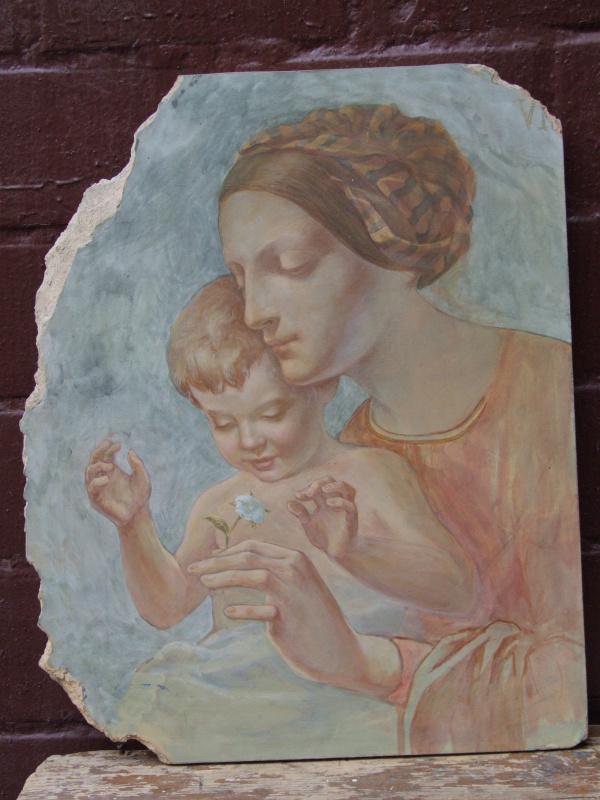 Bogdan Anatolyevich Kireev. Mural based on the Italian Renaissance