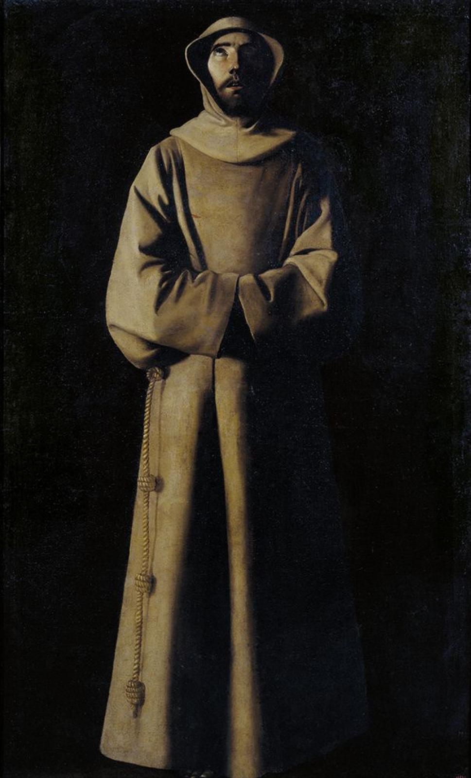 Франсиско де Сурбаран. Святой Франциск Ассизский
