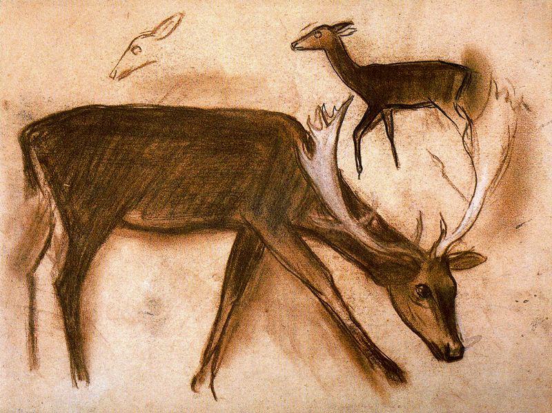 Mateo Hernandez. Deer