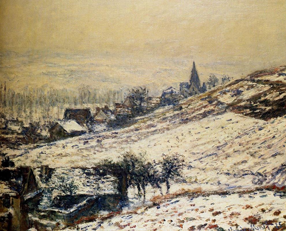 Клод Моне. Зима в Живерни