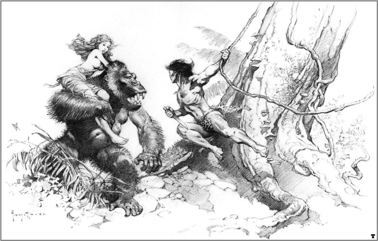 Frank Frazetta. Tarzan