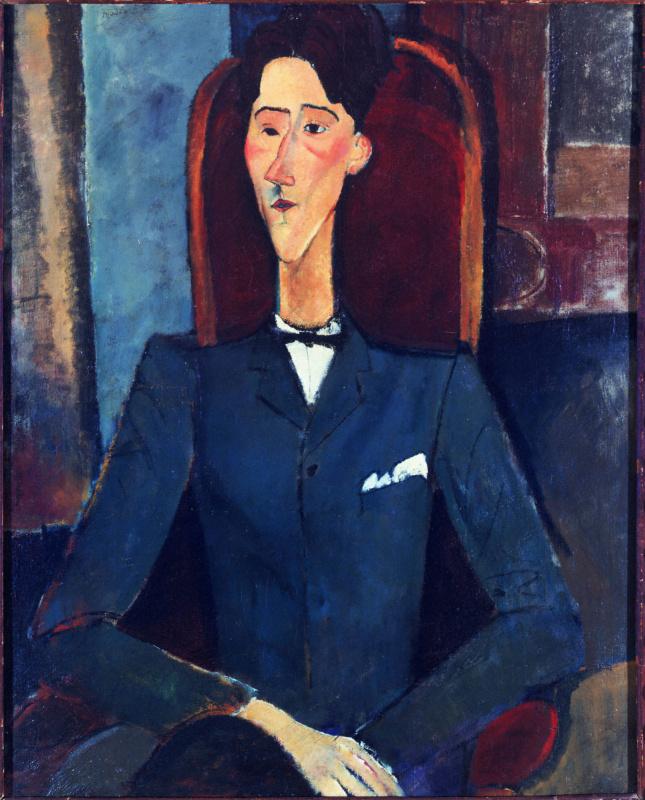 Amedeo Modigliani. Portrait Of Jean Cocteau
