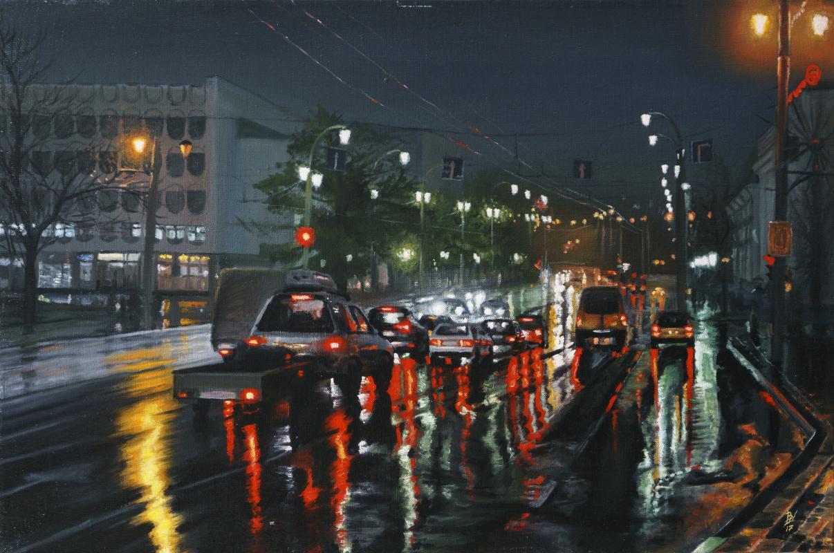 Вячеслав Юрьевич Шайнуров. Night city