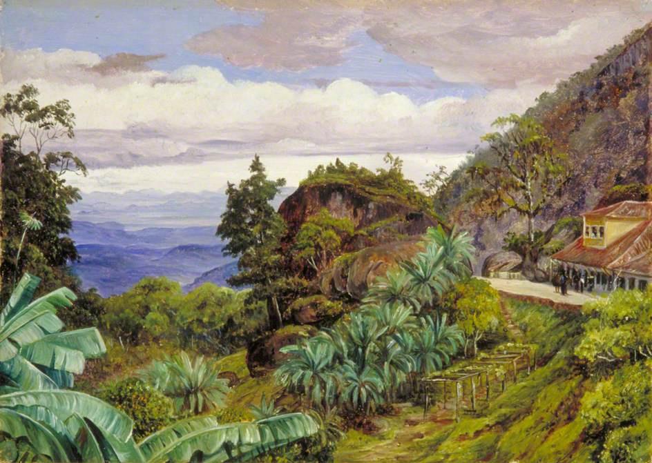 Marianna North. View of the Sierra Teresopolis, Brazil
