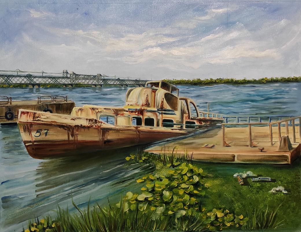Nadezhda Anatolyevna Poleva. Series 21 century, boat