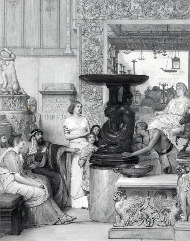 Галерея скульптур Августа Бланкарта