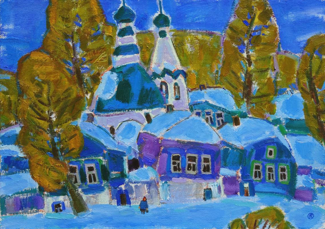 Daria Vladimirovna Timoshkina. Winter day.