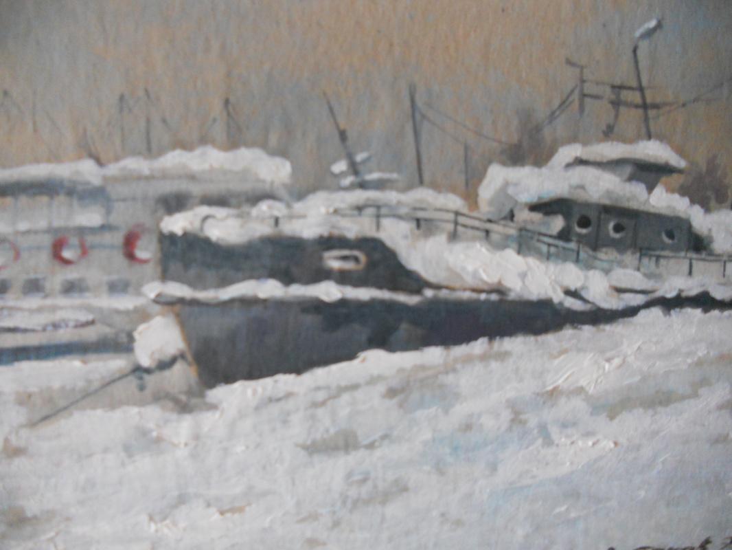 Edward Rudolfovich Votyakov. Hibernation on the Second Bay.