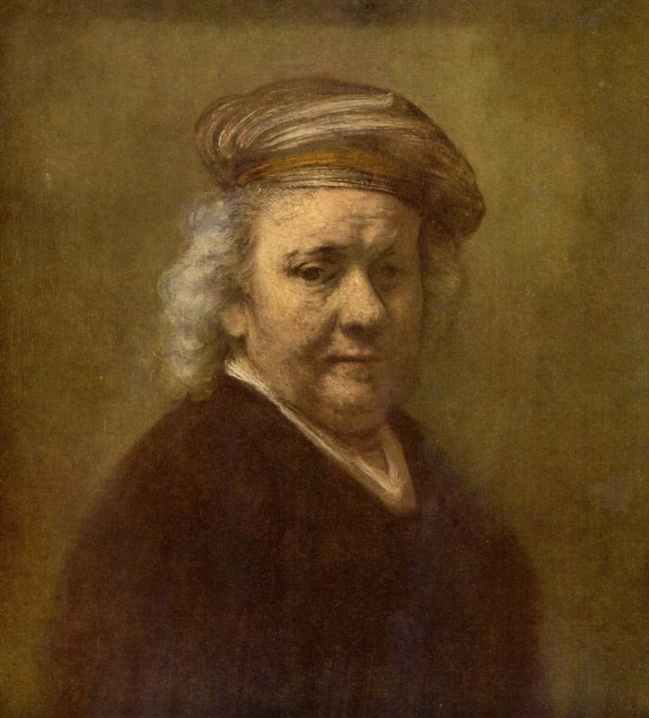 Рембрандт Ван Рейн. Автопортрет