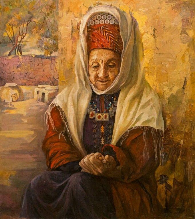 Сурай Мурадовна Акмурадова. Молитва