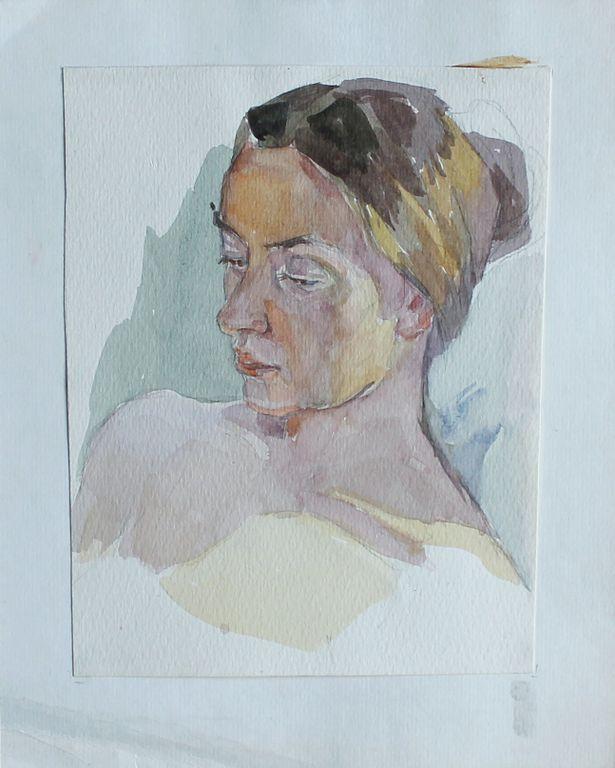 Tatyana Evgenevna Timkina. Portrait of a girl