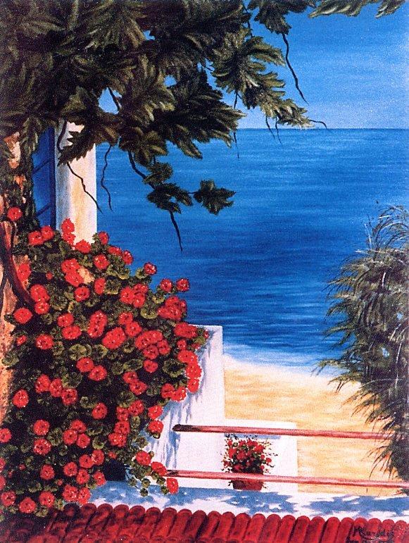 Марк Карудис. Вид на море