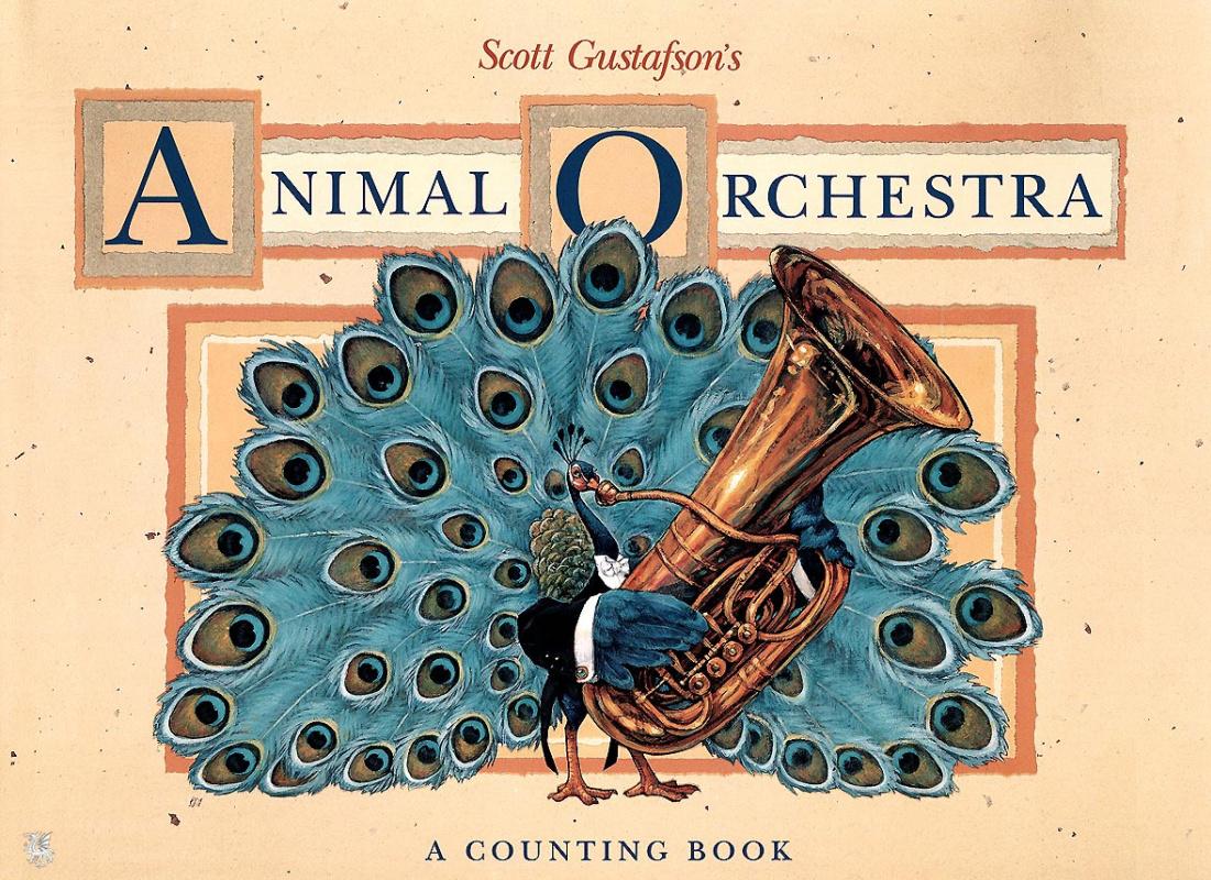 Скотт Густафсон. Животный оркестр обложка