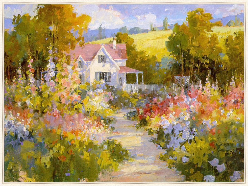 Steve Songer. The road to the garden
