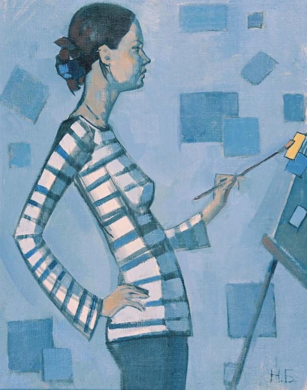 Наталья Белова. Автопортрет