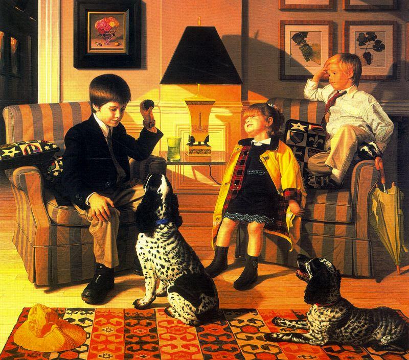 Стоун Робертс. Дети и собаки
