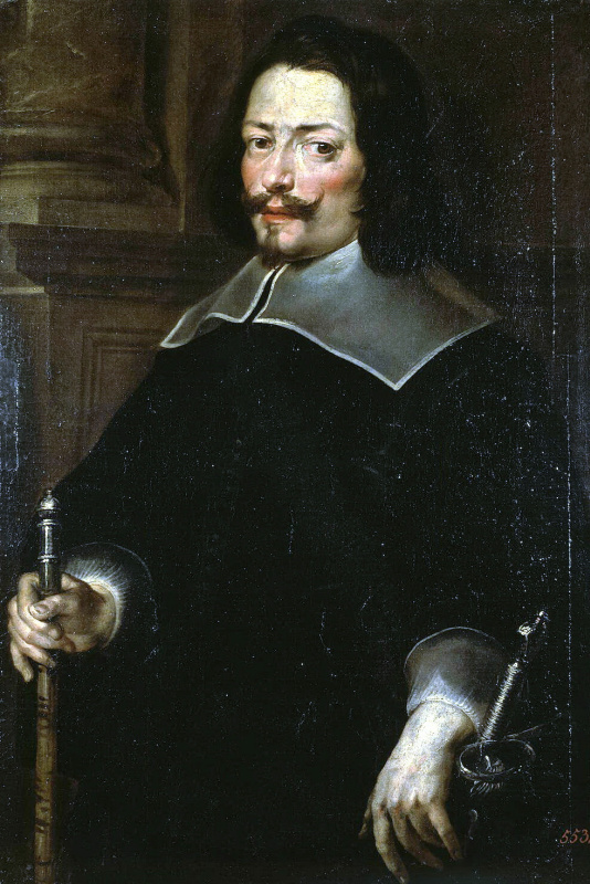 Juan Carreno de Miranda. Portrait of a man