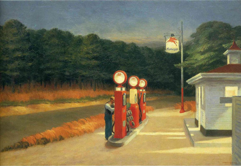 Edward Hopper. Gas
