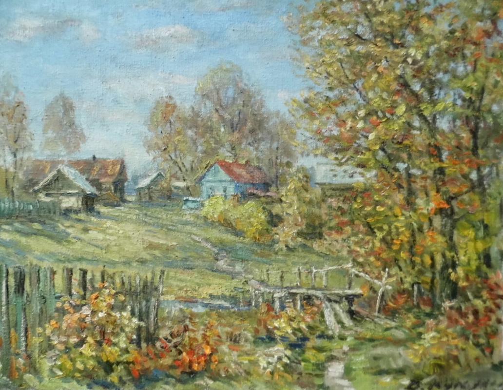 Victor Vladimirovich Kuryanov. Colors of autumn