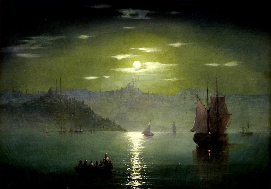 Ivan Aivazovsky. Moonlight