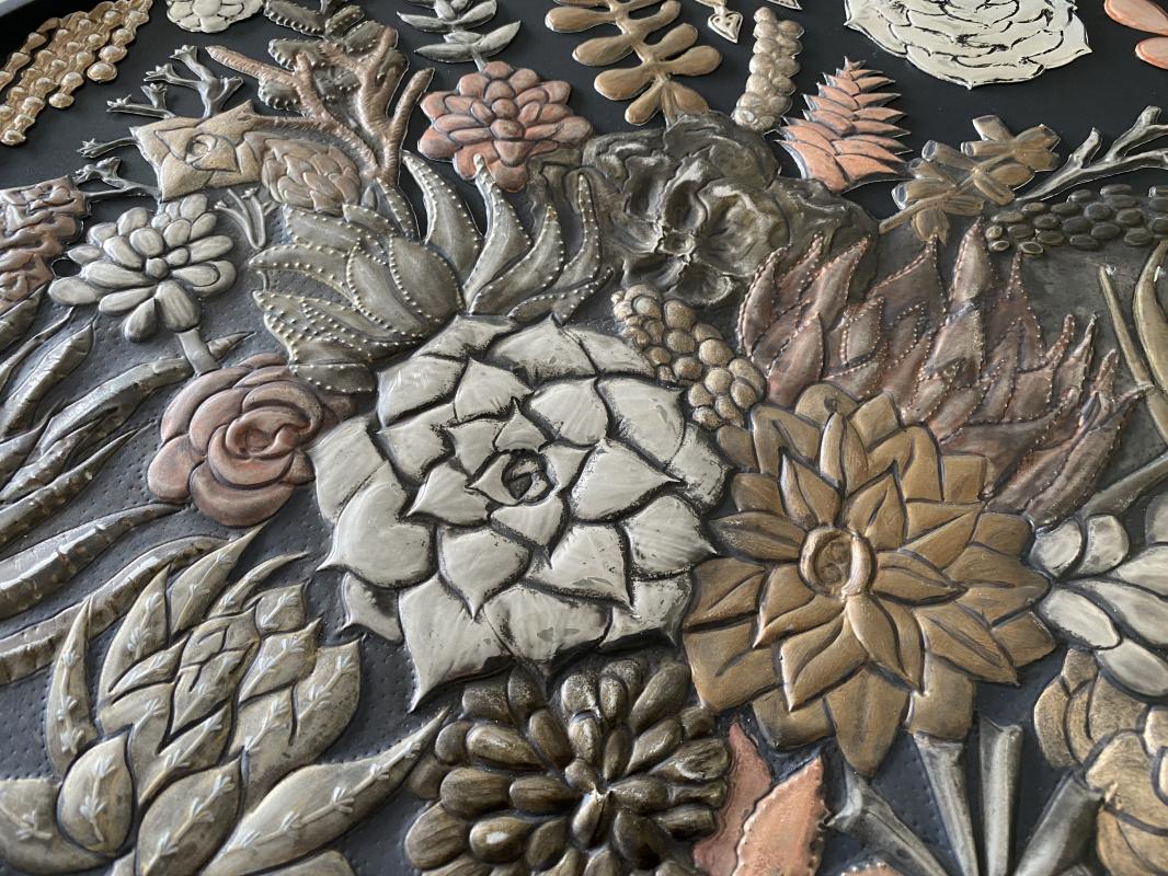 Metal Succulents