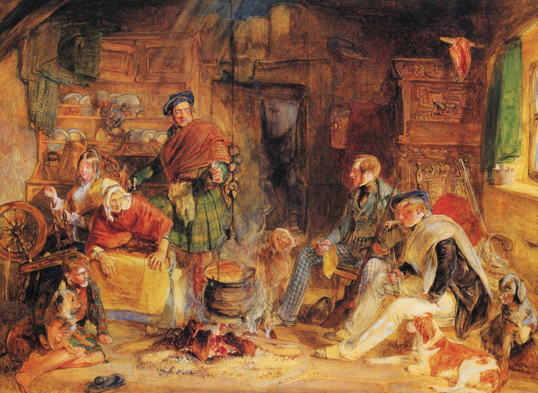 John Frederick Lewis. The hospitality of the highlands