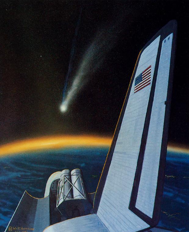 William Hartmann. Comet