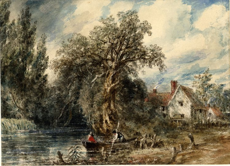 John Constable. The House Of William Lott