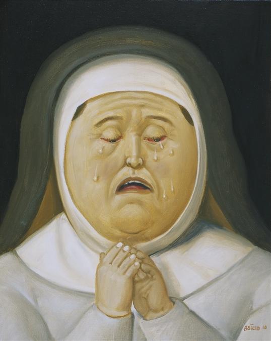 Фернандо Ботеро. Мать Христова