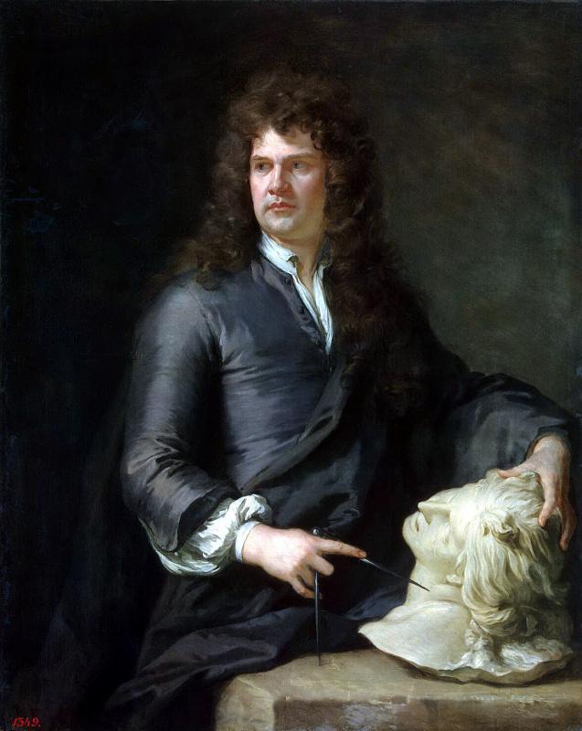Портрет Гринлинга Гиббонса