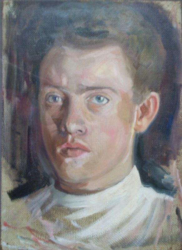 Михаил Иванович Жук. Автопортрет