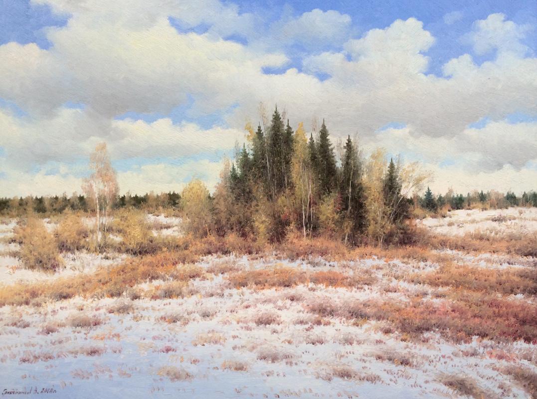 Vasily Ivanovich Gribennikov. Early winter