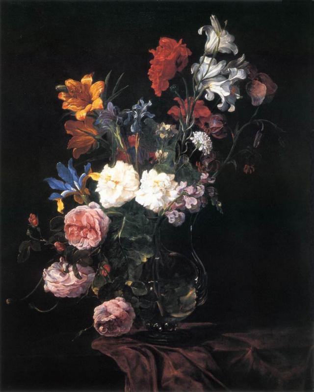Ян Фейт. Ваза с цветами