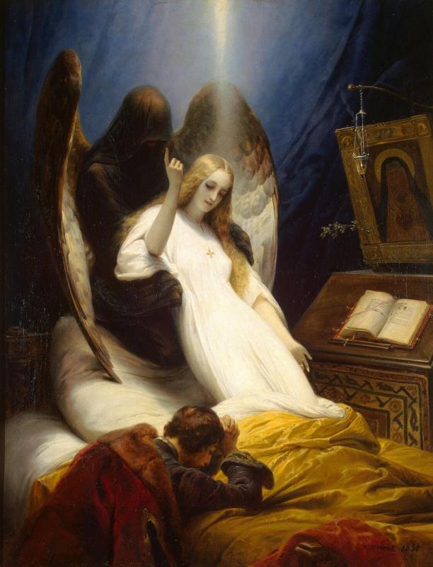 Эмиль-Жан-Орас Верне. Ангел смерти