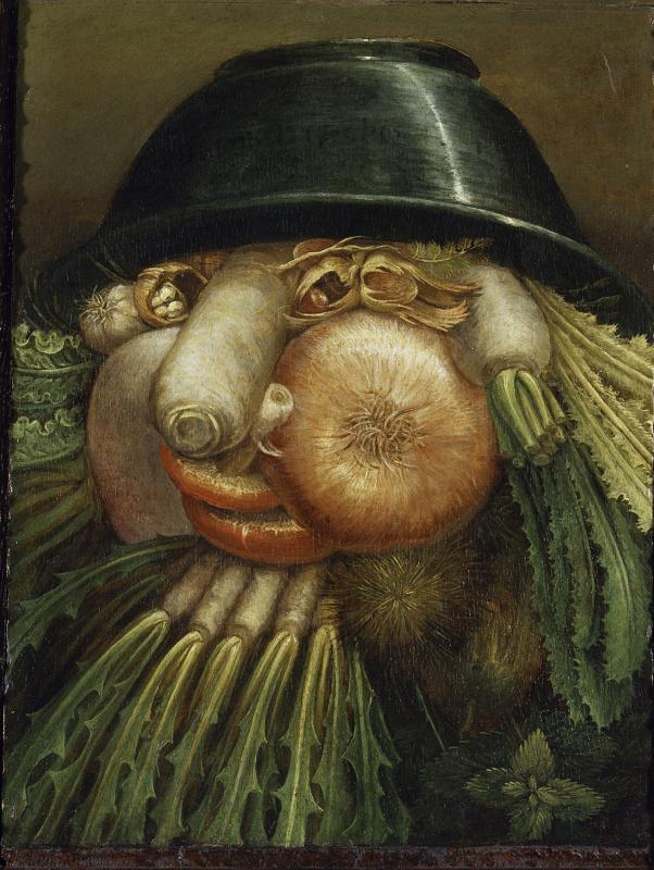 Огородник (Натюрморт с луком и овощами)