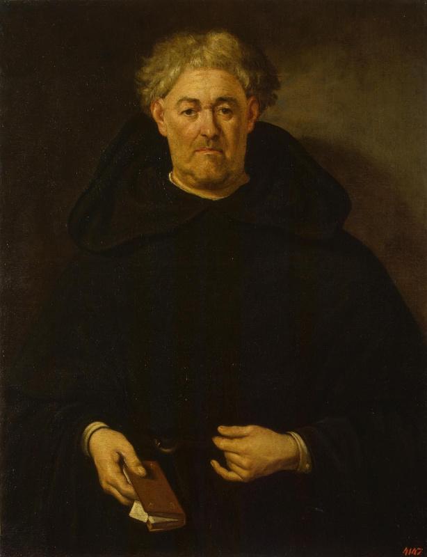 Juan de Pareja. Portrait of a monk