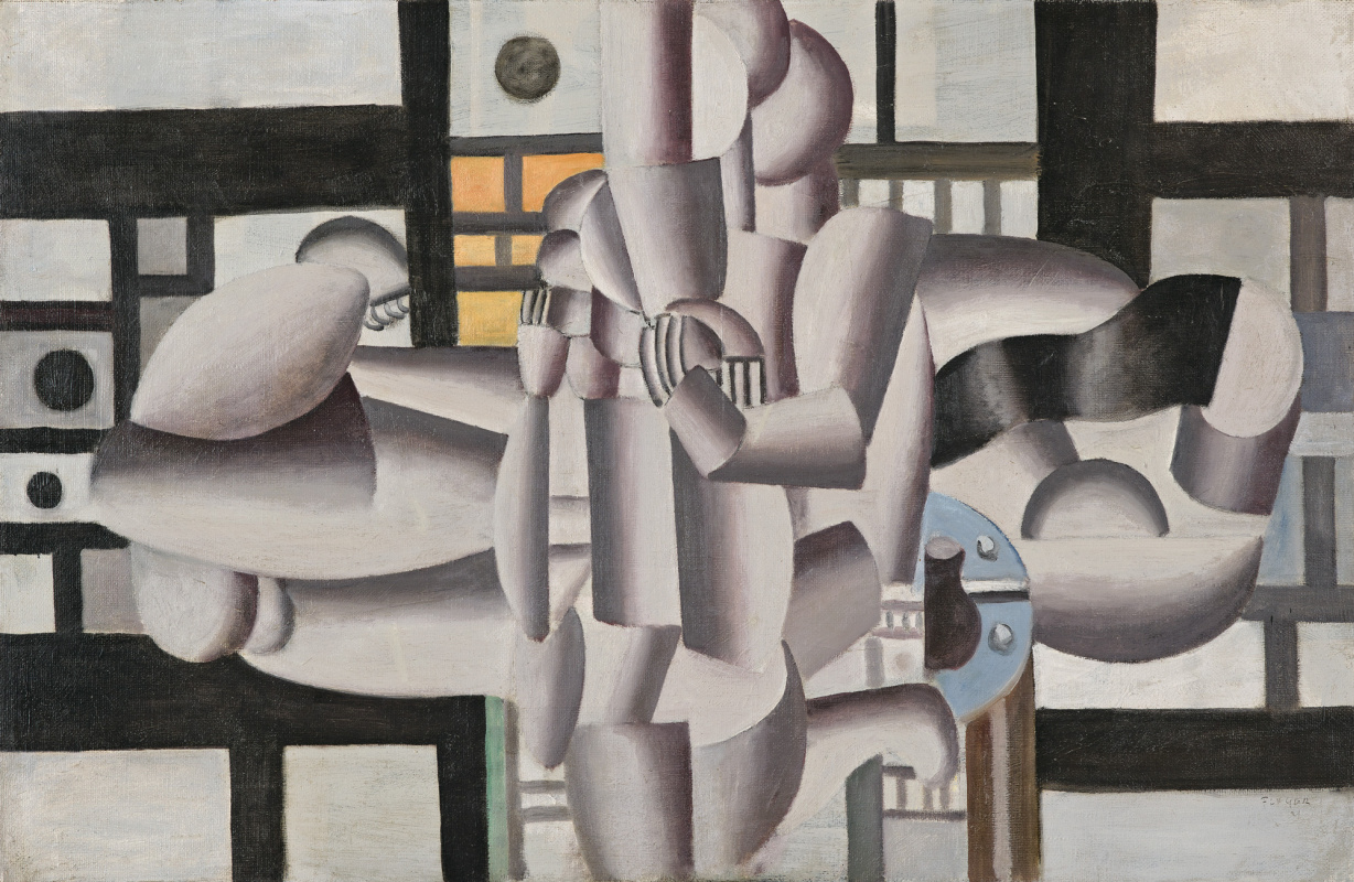 Fernand Leger. Three women and still life