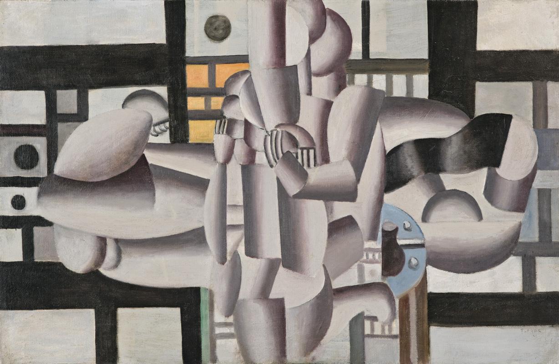 Fernand Leger. Three women and still life